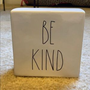 """Be Kind"" and ""Stay Humble"" Rae Dunn Ceramic Block"